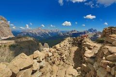 Dolomites mountain landscape Stock Image