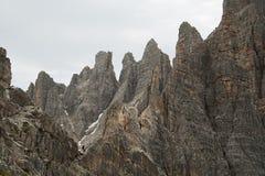 Dolomites mountain landscape Stock Photography