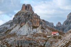 Dolomites mountain panorama,Italy Stock Photos