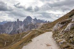 Dolomites mountain panorama ,Italy Royalty Free Stock Photos