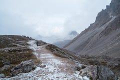 Dolomites mountain panorama Royalty Free Stock Photography