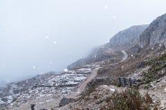 Dolomites mountain panorama Stock Photos