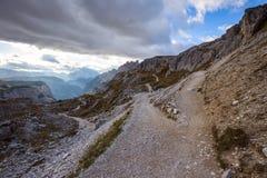 Dolomites mountain panorama Stock Images