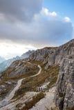 Dolomites mountain panorama Stock Photography