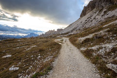 Dolomites mountain panorama Royalty Free Stock Images