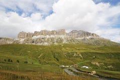 Dolomites Mountain Pass Royalty Free Stock Photo