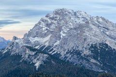 Dolomites mountain peaks Royalty Free Stock Photo