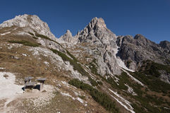 The Dolomites Royalty Free Stock Photo