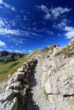 Dolomites, mountain ridge Stock Photo