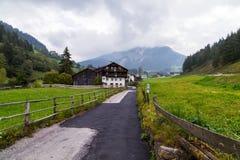 Dolomites mountain scenery Royalty Free Stock Images
