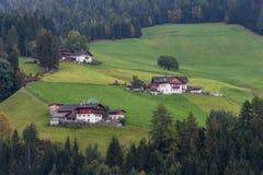 Dolomites mountain scenery Stock Images