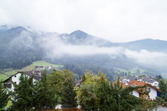 Dolomites mountain scenery Stock Photography