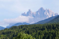 Dolomites mountain scenery Royalty Free Stock Photography