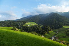 Dolomites mountain scenery Royalty Free Stock Photo