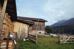Dolomites mountain scenery royalty free stock image