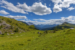 Dolomites mountain in summer Royalty Free Stock Image