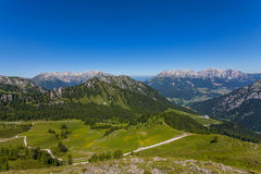 Dolomites mountain in summer Royalty Free Stock Photos