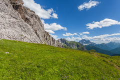 Dolomites mountain in summer Stock Image