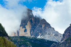 Dolomites mountain summer view Stock Image