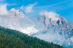 Dolomites mountain summer view Stock Images