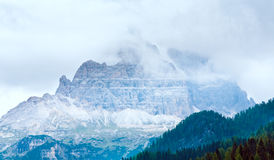 Dolomites mountain summer view Royalty Free Stock Photography