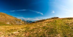 Dolomites mountain view Royalty Free Stock Photography