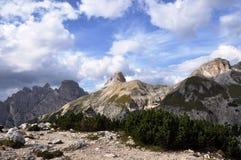 Dolomites mountains Stock Photography