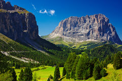Dolomites mountains Stock Photo