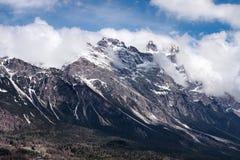 Dolomites mountains above Cortina D'Ampezzo Stock Photo