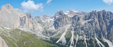 Dolomites mountains Stock Photography
