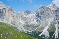 Dolomites mountains Stock Image