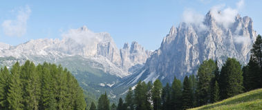 Dolomites mountains Royalty Free Stock Image