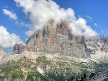 Dolomites Mountains, Italy, Summer 2009 Royalty Free Stock Images