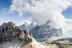 Dolomites mountains. Stock Photo