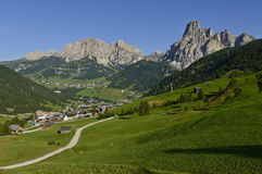 Dolomites mountains landscape Stock Photos