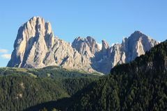 Dolomites mountains landscape in Italy Royalty Free Stock Image