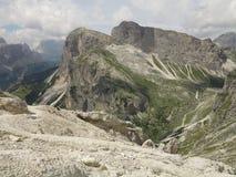 Dolomites mountains landscapes, Corvara Alta Badia, Italy Royalty Free Stock Image