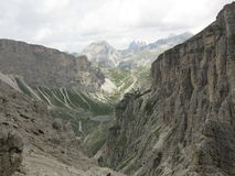 Dolomites mountains landscapes, Corvara Alta Badia, Italy Stock Photography