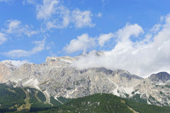Dolomites mountains near Cortina D'Ampezzo Stock Photography