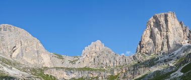 Dolomites mountains Royalty Free Stock Images