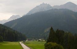 Dolomites near Cortina dAmpezzo Italy Royalty Free Stock Image