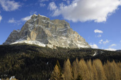 Dolomites in northern Italy Royalty Free Stock Photography
