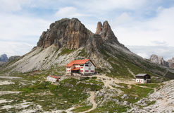 The Dolomites in northern Italy Royalty Free Stock Photography