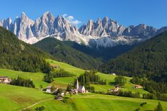 The Dolomites in northern Italy Stock Photography