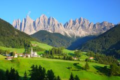 The Dolomites in northern Italy Royalty Free Stock Image