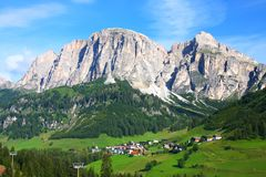 The Dolomites in northern Italy Royalty Free Stock Photos