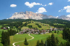 The Dolomites in northern Italy Royalty Free Stock Photo