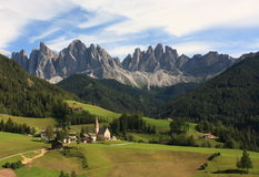Dolomites: Odle Group Stock Image