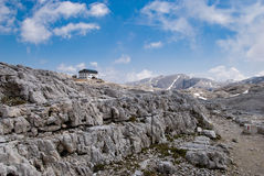 Dolomites of Pale di San Martino. Circuit of the Pale San Martino High Plateau Royalty Free Stock Images