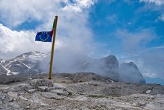 Dolomites of Pale di San Martino Stock Images